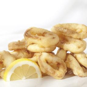 144 Calamari fritti