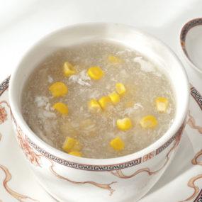 32 Zuppa di pollo e mais