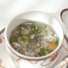 33 Zuppa di granchio e asparagi